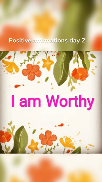 Positive affirmations day 2